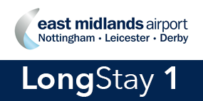 East Midlands Airport Long Stay 1 logo