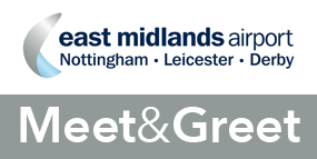 East Midlands Airport Meet and Greet logo