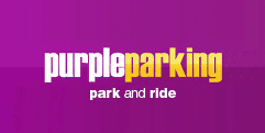 Purple Parking Park & Ride for T5 Heathrow logo