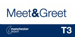 Meet and Greet T3 Manchester Airport logo