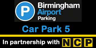 Birmingham Airport Car Park 5 - NON-FLEX logo