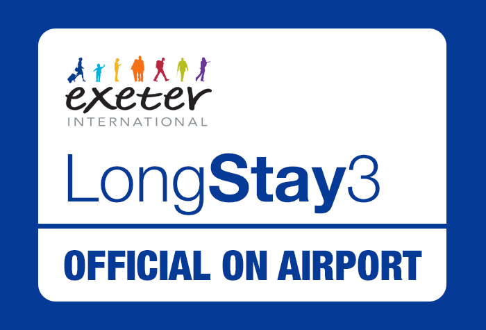 Exeter Airport Long Stay 3 car park logo