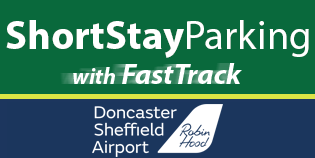 Doncaster (Robin Hood) Short Stay Parking + FAST TRACK logo