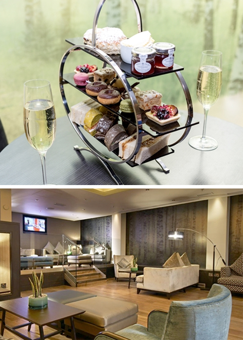 Gatwick Hilton Hotel aftenoon tea