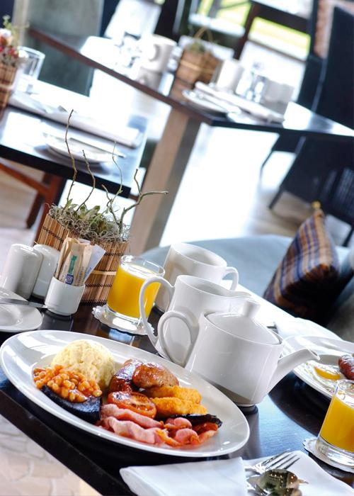 Glasgow Airport Holiday Inn Hotel food