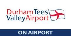 Durham Tees Valley On-Airport logo