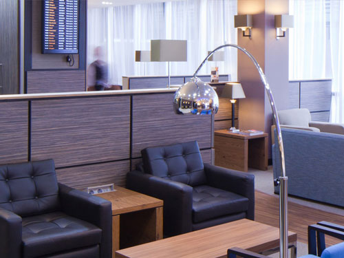 Aspire Lounge Gatwick seats