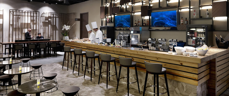 Heathrow Plaza Premium Lounge Terminal 2 bar