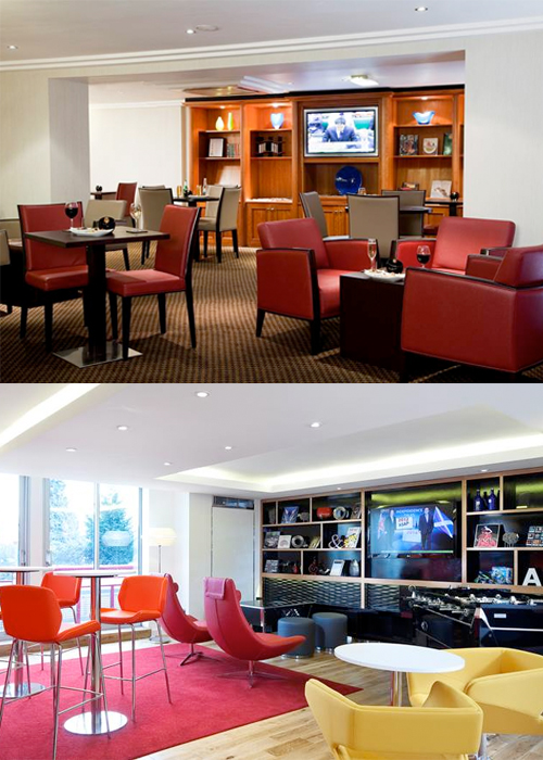 Heathrow Crowne Plaza Hotel rooms