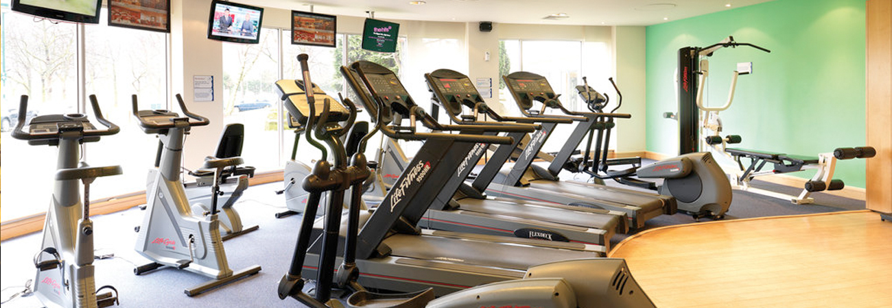 Heathrow Holiday Inn M4 Hotel gym