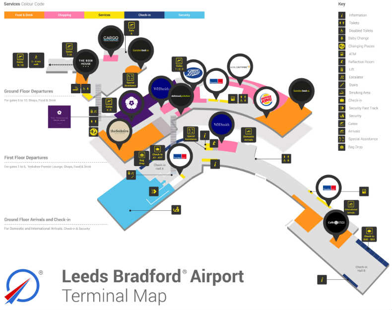 Leeds bradford airport parking search save on all lba car parks if checking in online with hold luggage report to the bag drop area in hall a for all airlines except jet2 if youre travelling with hand luggage only m4hsunfo