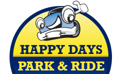 Happy Days Park & Ride at Heathrow logo
