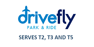 Heathrow Drivefly Park and Ride logo