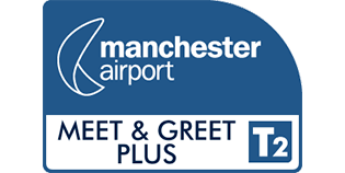 Meet and Greet PLUS T2 Manchester Airport logo