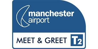 Meet and Greet T2 Manchester Airport logo