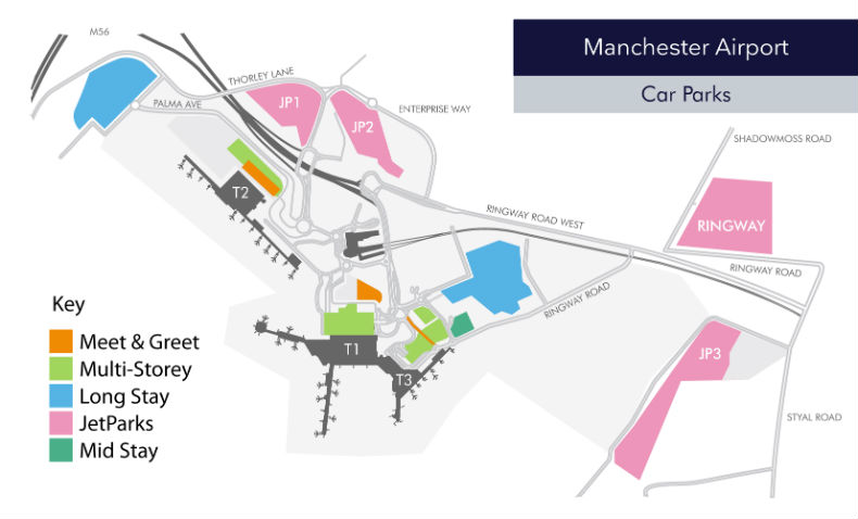 Manchester airport parking search save on all man car parking official park and ride at manchester airport m4hsunfo