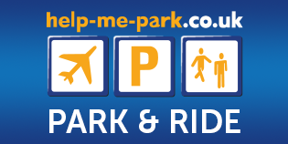 Luton Help Me Park - Park and Ride logo