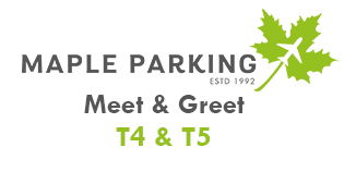 Heathrow Maple Parking Meet and Greet T4 & T5 logo