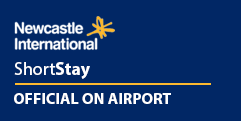 Official Newcastle Airport Short Stay logo